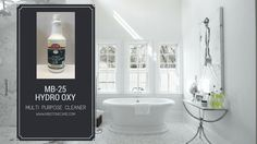 The MB-25 HydroOxy is a multi-purpose cleaner with oxygenated peroxide and fortified with high performance solvents and surfactants. This unique blend of oxygen boosted surfactants and cleaners means it will safely clean and de-grease the toughest soils. Unlike other peroxide cleaners, it has a neutral pH so it does not leave a streaking residue behind.