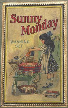 Old Catalogue Ad Vintage Laundry Clip Art Antique