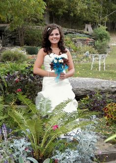 Terraced Wedding Garden at Red Bud Valley Resort in Eureka Springs, AR