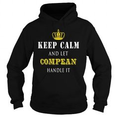 Awesome Tee  KEEP CALM AND LET COMPEAN HANDLE IT T-Shirts