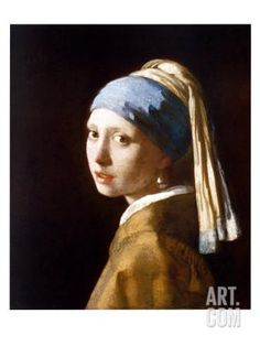 Girl with a Pearl Earring Art Print by Jan Vermeer at Art.com. Favorite Painting. So glad I got to see this finally in The Hague. EW.