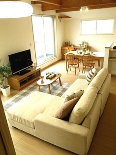 Japanese Apartment, Country Style Furniture, One Room Apartment, Apartment Interior Design, Aesthetic Rooms, Small Apartments, Living Room Furniture, Sweet Home, New Homes