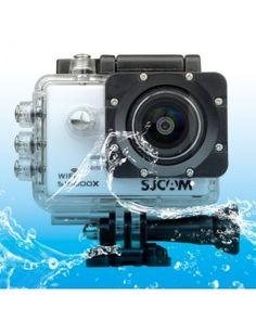 SJCAM SJ5000X WiFi Ultra HD 2K 2.0 inch LCD Sports Camcorder with Waterproof Case, 170 Degrees Wide Angle Lens, 30m Waterproof(White)