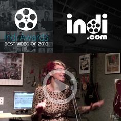 Repin to vote for April Snow as the Indi.com best video of 2013. The video with the most likes, tweets and pins wins $1,000. Vote for as many videos as you want!