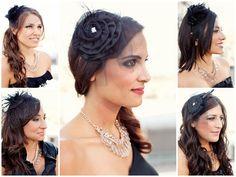 bridesmaid fascinator | postcards and pretties: {real wedding} lindsay + kier's la rooftop ...