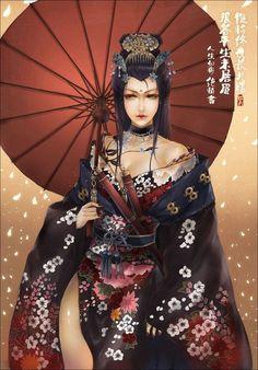 Resultado de imagem para geisha art