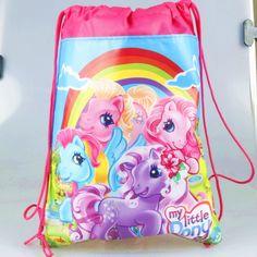 1pcs my little pony cartoon non-woven fabrics drawstring backpack,schoolbag,shopping bag  http://playertronics.com/product/1pcs-my-little-pony-cartoon-non-woven-fabrics-drawstring-backpackschoolbagshopping-bag/