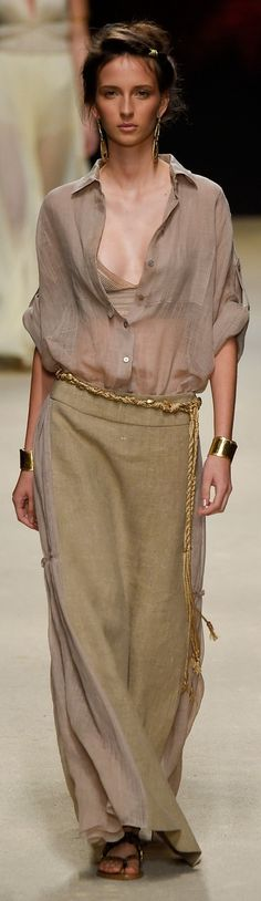 Alberta Ferretti Spring 2016 ~ Milan Fashion Week