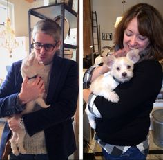 So much love for one of our favorite furry visitors! #HomeMarketHuck #dogfriendly