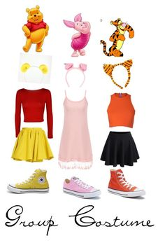 Disney Bound Outfits Casual, Cute Disney Outfits, Disney Themed Outfits, Disney Dresses, Teen Fashion Outfits, Cute Outfits, Girl Group Halloween Costumes, Cute Costumes, Halloween Kostüm