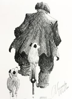 The official website of the contemporary artist - Alexander Millar. View and buy originals, prints and read the stories behind a range of Alexander's work. Bicycle Art, Bike, Bicycle Illustration, Impressionist Artists, Human Art, Rainy Days, Sketchbooks, Contemporary Artists, Art Drawings