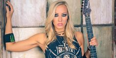 Los Angeles photoshoot for Nita Strauss