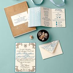Good As Gold - Shore-Inspired Wedding Invitations - Coastal Living