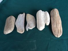 5 flat driftwood pieces for mounting sculpture by DriftwoodAmour