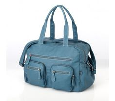 OiOi Carry All Turquoise Faux Buffalo - Nappy Bags - Car Seats, Baby Carriers, Nappy Bags | The One Stop Baby Shop | Baby Bunting