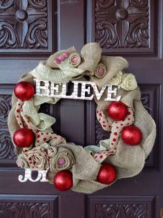 Christmas wreath vintage Christmas wreath by seasonsandblooms, $65.00