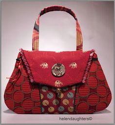 Helen S Daughters Studio Fabric Handbags Bags Potli Cute Purses