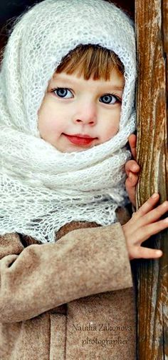 Russian little girl.