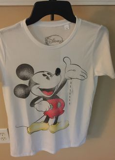 Mickey Mouse Tshirt with Sparkles by PerlasYRosasBoutique on Etsy