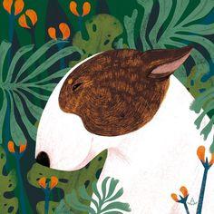dog illustration Illustration series drawn for 2018 calendar bulldog Art And Illustration, Portrait Illustration, Animal Illustrations, Kunst Inspo, Art Inspo, Dog Paintings, Dog Portraits, Dog Art, Gouache