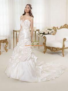 Wunderschön Elegant Designer brautkleider aus Taft