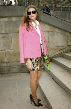 THE OLIVIA PALERMO LOOKBOOK: Paris Fashion Week : Olivia Palermo at Valentino