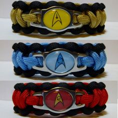 Star Trek Paracord Bracelet