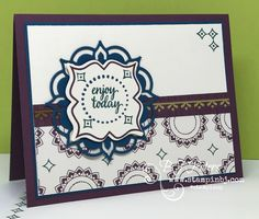 Must get this Eastern Palace Class in the mail!  25 FREE tutorials too!  #stampinBJ.com