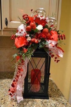 Kristen's Creations.  Valentines Day lantern