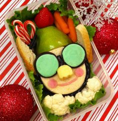 Bento Day 71 This lunch is SO Tinsel!!!