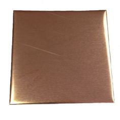 """AmazonSmile: RMP Stamping Blanks, 3"""", Square, 16 Oz. Copper, 24 Ga. - 3 Pack"""