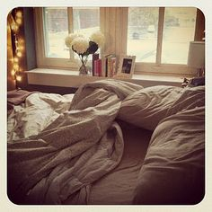 #moveonwithME  Reminds me of my comfy messy bed where I temporarily retreat to soothe my soul.