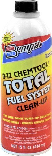 Berryman (2616-12PK) B-12 Chemtool Total Fuel System Clean-Up - 15 oz., (Pack of 12). For product info go to:  https://www.caraccessoriesonlinemarket.com/berryman-2616-12pk-b-12-chemtool-total-fuel-system-clean-up-15-oz-pack-of-12/