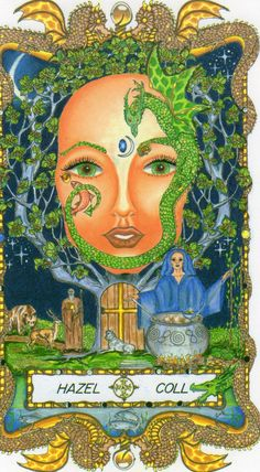 ☆ Hazel Coll » Fr0m: The Faces of WomanSpirit A Celtic Oracle of Avalon :¦: By Katherine Torres, Ph.D. ☆