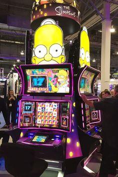 Simpsons slot machin