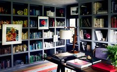 Jeffrey Alan Marks can do no wrong. #Bookcase #artwork #Office