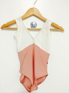 UNWORN Yumiko Alicia High Cut Leotard Duo Antique Rose White Velvet Small   eBay