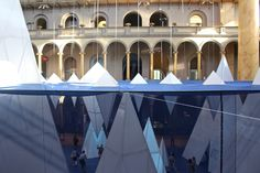 ICEBERGS at the National Building Museum in Washington, DC by James Corner Field Operations.