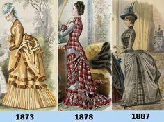Bustle Era Fashion