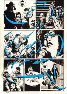 schultz+Flow+comicArrows #MarkSchultz #Art #Comics