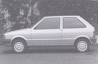 OG | 1984 Fiat Uno | The initial Lancia prototype