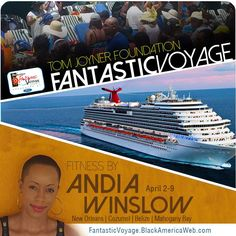 Excited to announce that I'll be leading fitness classes aboard the Tom Joyner Foundation Fantastic Voyage in April! #FantasticVoyage17 #FitnessActivist