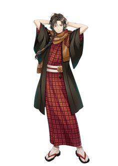 衣装1 Boy Character, Character Outfits, Yukata, Anime Outfits, Boy Outfits, Anime Manga, Anime Guys, Japan Outfit, Japanese Characters
