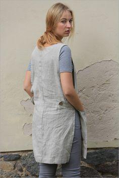 Dit schort is gemaakt van 100% natuurlijke linnen en handgemaakte en geproduceerd door Linencloud. Gewassen linnen schort is een functionele en lange levensduur. Een schort heeft twee comfortabele zijzakken. Een ander één mooi detail voor uw dagelijkse linnen leven. ;) Omschrijving: