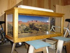 DIY reptile enclosures