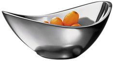 Butterfly Silver Metal 7-Inch-W Nambe Serving Bowl See more... http://www.eurostylelighting.com/4/entertaining-search/search.htm #interior_design #entertaining #holidays #home_decor