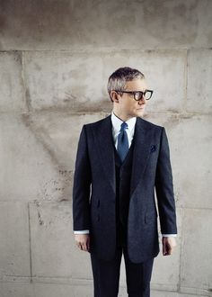 Martin Freeman | 'IT'S THE CLOSEST I'LL EVER GET TO BEATLEMANIA' - The Rake
