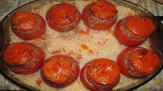 Gourmandes tomates farcies traditionnelles, un mets appétissant - TonMag Mets, Sausage, Buffet, Pudding, Palmiers, Desserts, Mozzarella, Fondant, Food
