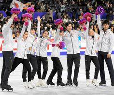 日本スケート連盟はフィギュアスケートの五輪代表を発表。男子は宇野昌磨、田中刑事、羽生結弦、女子は宮原知子、坂本花織を選出した。アイスダンスは村元哉中、クリス・リード組、ペアは須崎海羽、木原龍一組に決まった。写真は全日本選手権終了後の会場で(羽生は欠場)。 Photo 白井伸洋 #朝日新聞 #フィギュアスケート #平昌五輪 #宇野昌磨 #田中刑事 #羽生結弦 #宮原知子 #坂本花織 #村元哉中 #クリスリード #須崎海羽 #木原龍一 #asahi #figureskating #figureskater #olympics #pyeongchang2018 #winterolympics #yuzuruhanyu #keijitanaka #shomauno #satokomiyahara #kaorisakamoto #miusuzaki #ryuichikihara #kanamuramoto #chrisreed