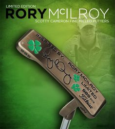 Limited Edition titleist - Rory McIlroy